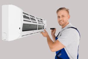 Installing a ductless AC air handler