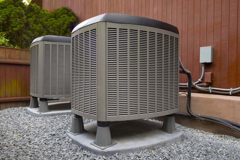 heating and air conditioning residential units
