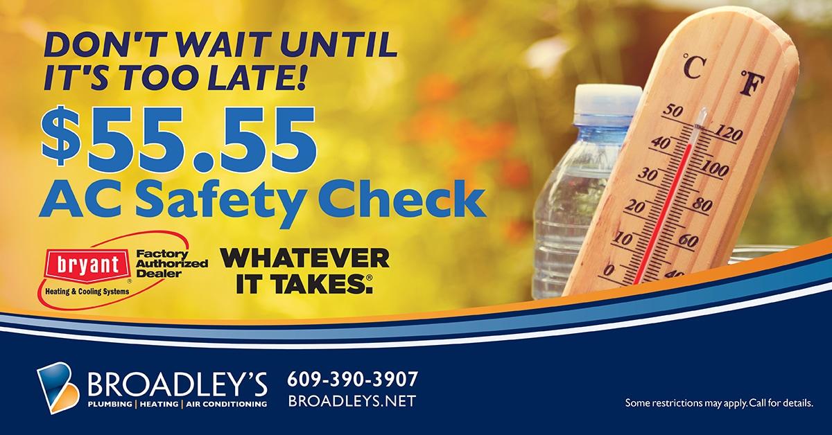 BRD $55.55 Safety Check