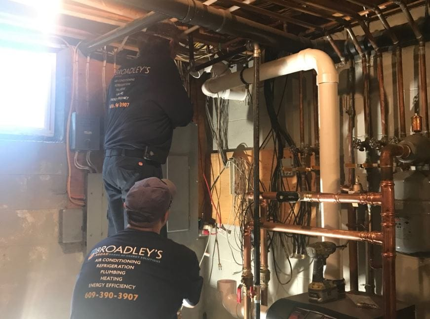 Broadley's performs an oil-to-gas conversion in Marmora, NJ