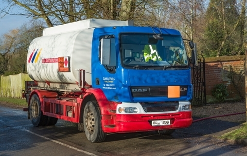 Home Heating Oil Delivery Truck