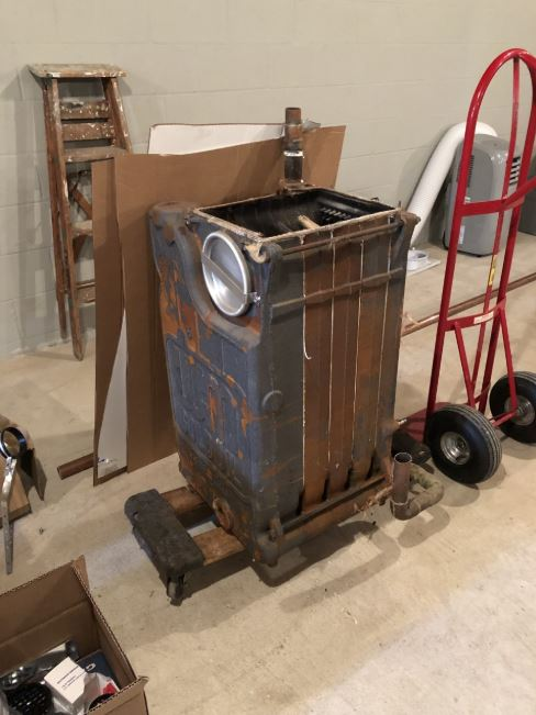 33-year-old boiler replaced with high-efficiency gas furnace in Marmora, NJ