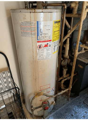 Old Boiler Ready For Replacement In Ventnor, NJ
